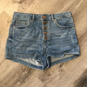 Forever 21 high waisted shorts Size 28